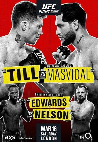 UFC fight Night 167 poster - Darren Till Vs Jorge Masvidal