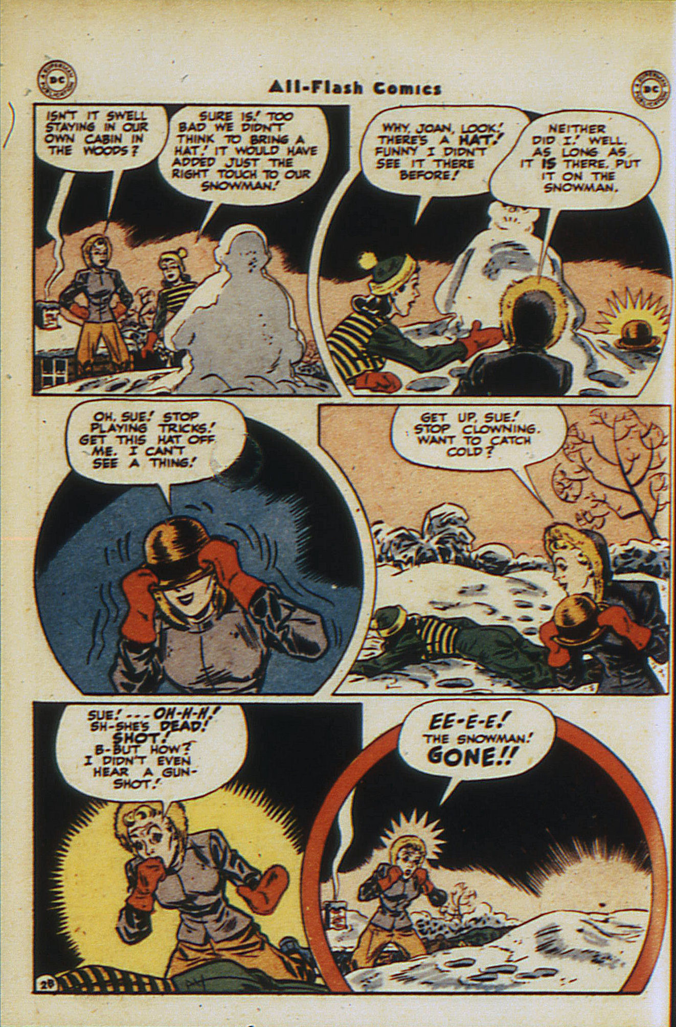 Read online All-Flash comic -  Issue #30 - 18