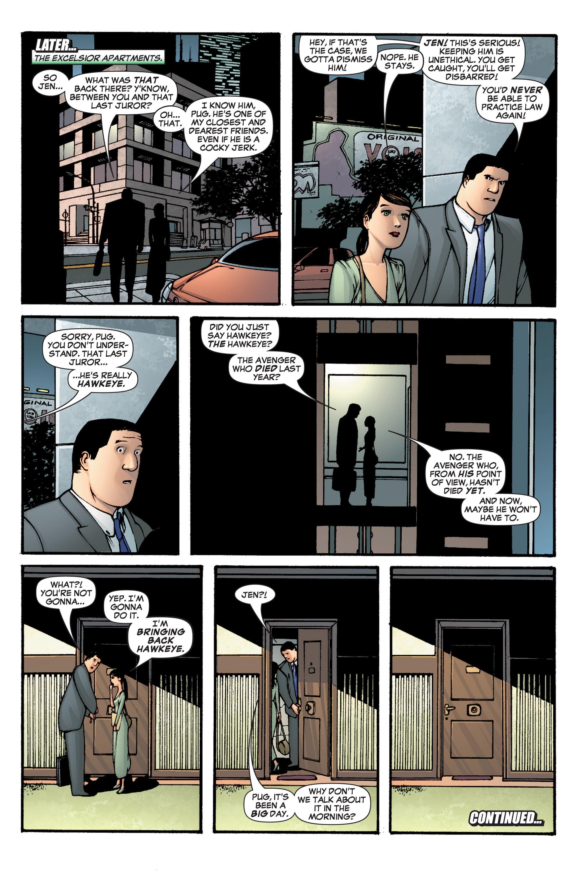 Read online She-Hulk (2005) comic -  Issue #1 - 23