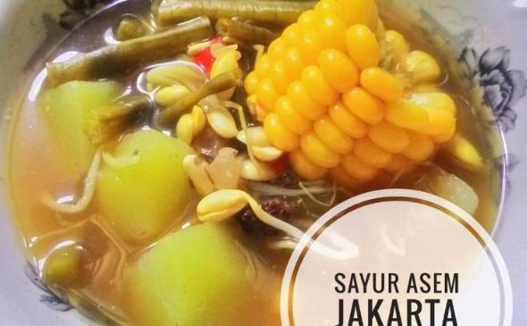 Resep Sayur Asem Jakarta sederhana