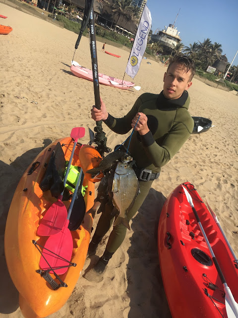 Fishing with Legend Kayak's Proteus