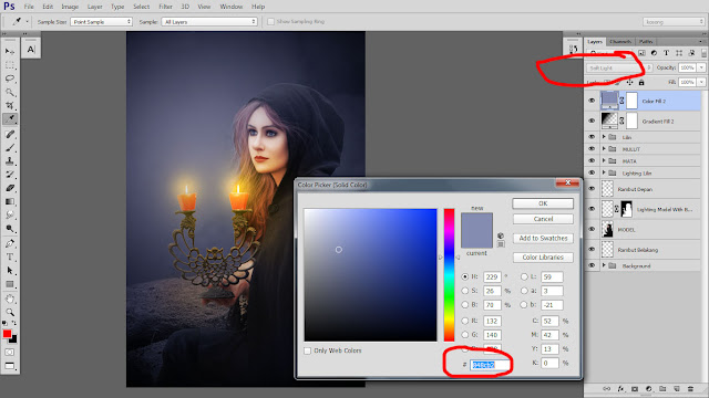 41 Design cover buku Novel dengan Photoshop CC part2
