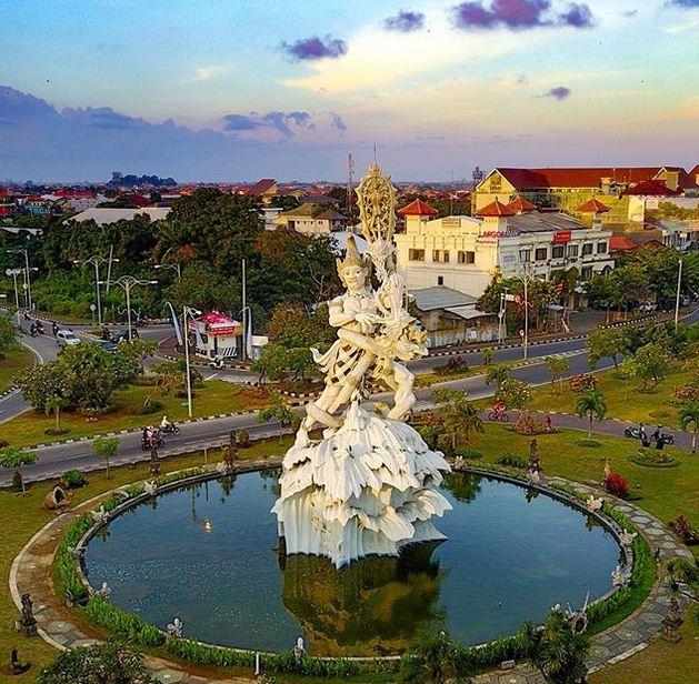 Objek Wisata Dan Kisah Patung Dewa Ruci di Kuta Badung Bali Informasi Terbaru