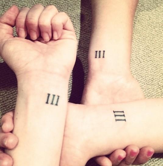 Tatuajes De Números Romanos Origen Ideas Y Significado Belagoria