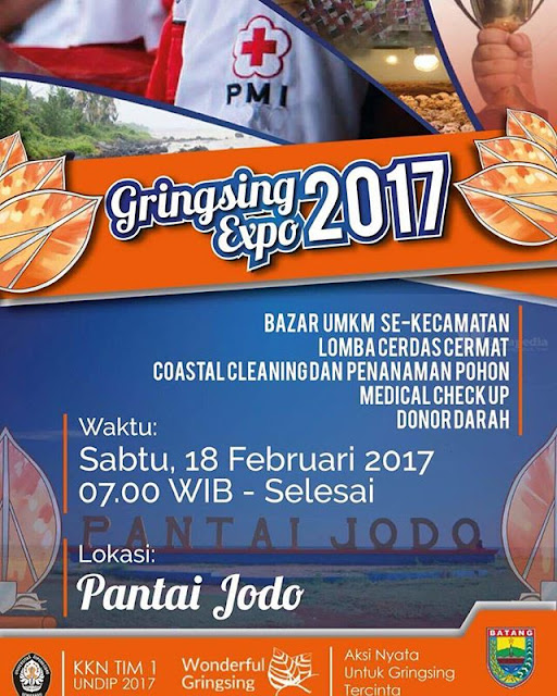 Event Batang | 18 Februari 2017 | Gringsing Expo 2017