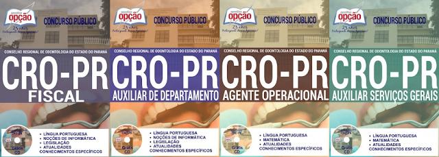 Apostila Concurso Concurso Conselho Regional de Odontologia do Paraná - CRO/PR 2016,