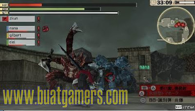 Download God Eater 2 v1.40 PPSSPP PSP ISO CSO Terbaru
