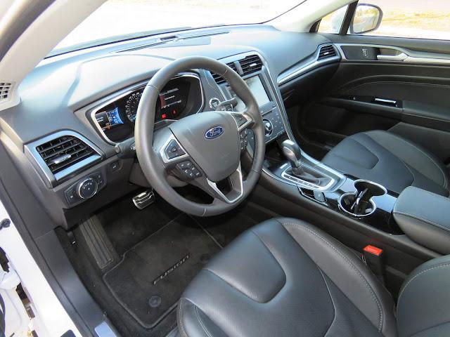 Ford Fusion 2016 Titanium Branco Pérola - interior - painel