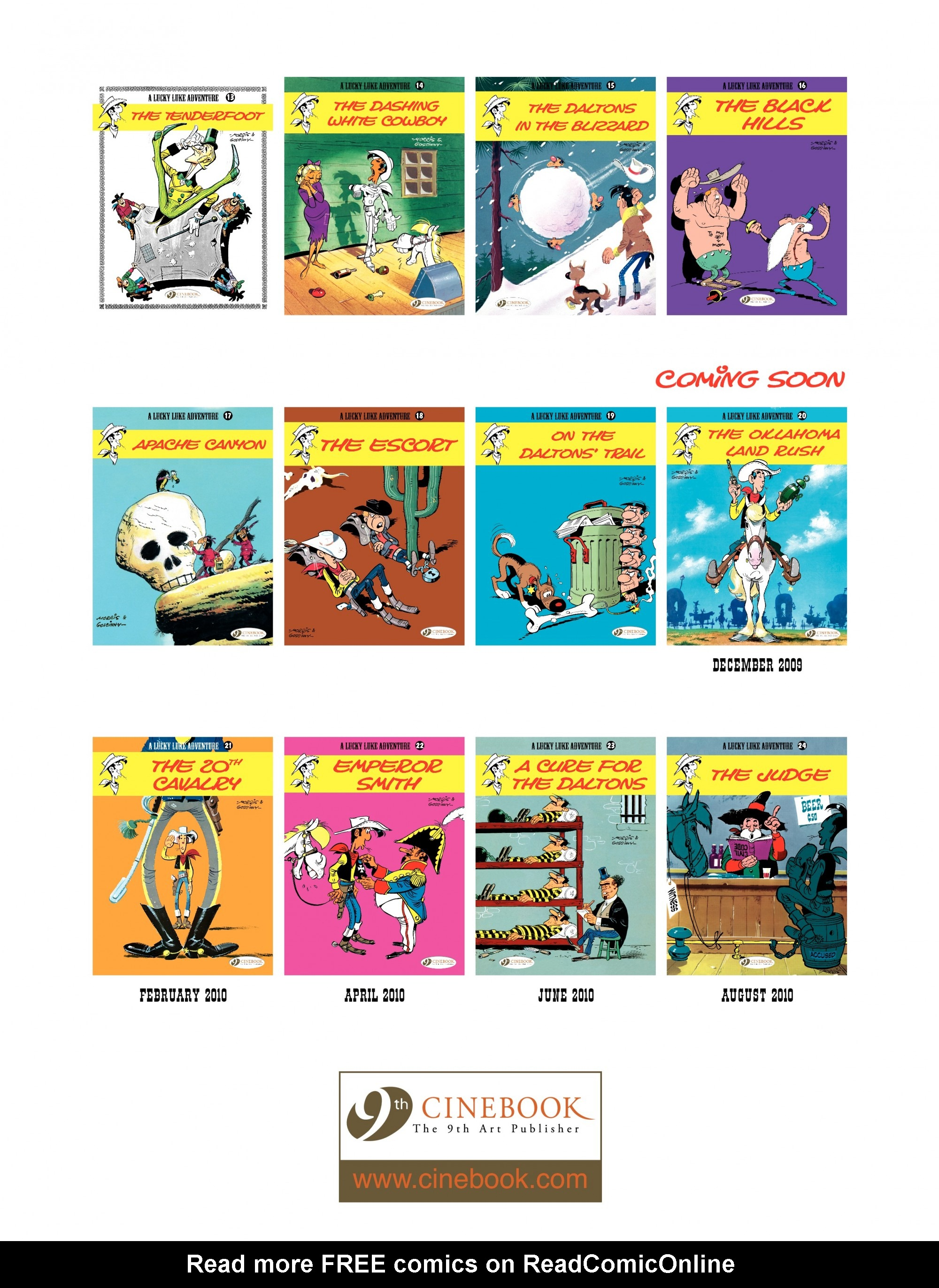 Read online A Lucky Luke Adventure comic -  Issue #19 - 48