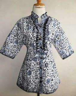 Model Baju Dan Rok Batik Guru