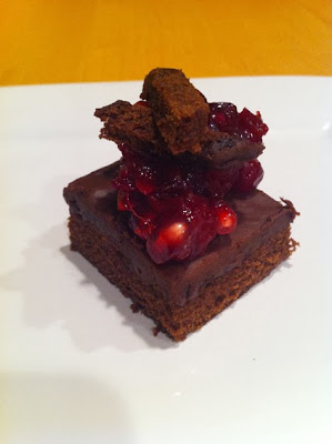 Stacked Cran-Brownie