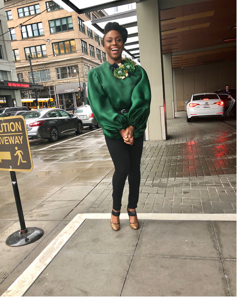 Chimamanda-Adichie-outfit-to-International-Women-Day-event-at-Amazon-Headquarters-2