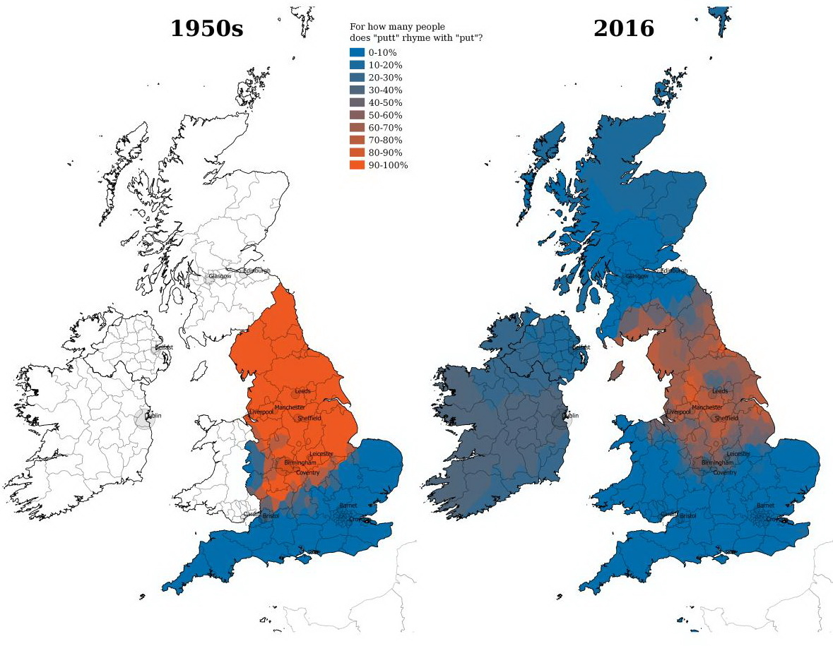 How London has killed off local dialects across England