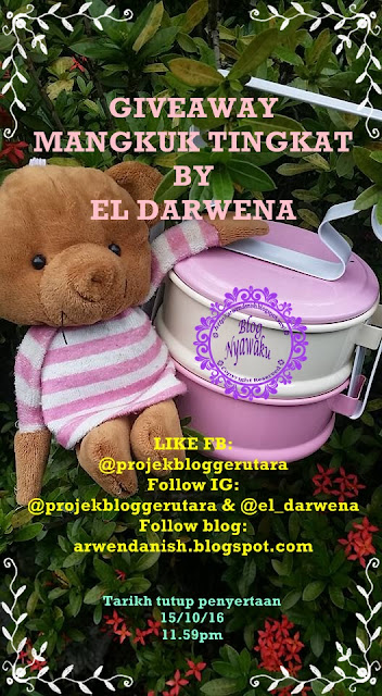 Giveaway Mangkuk Tingkat by El Darwena
