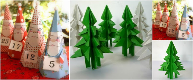 arbolitos-navideños-papel