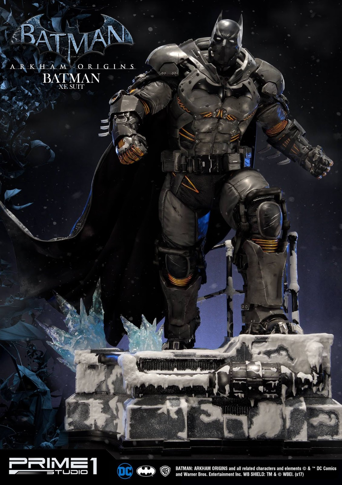 Infinite Earths This Prime 1 Studio Batman XE Statue Is Ice Cold