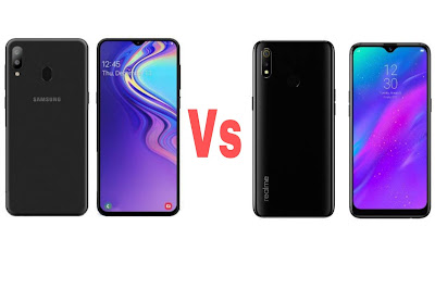 Galaxy M20 Vs Realme 3 Phone