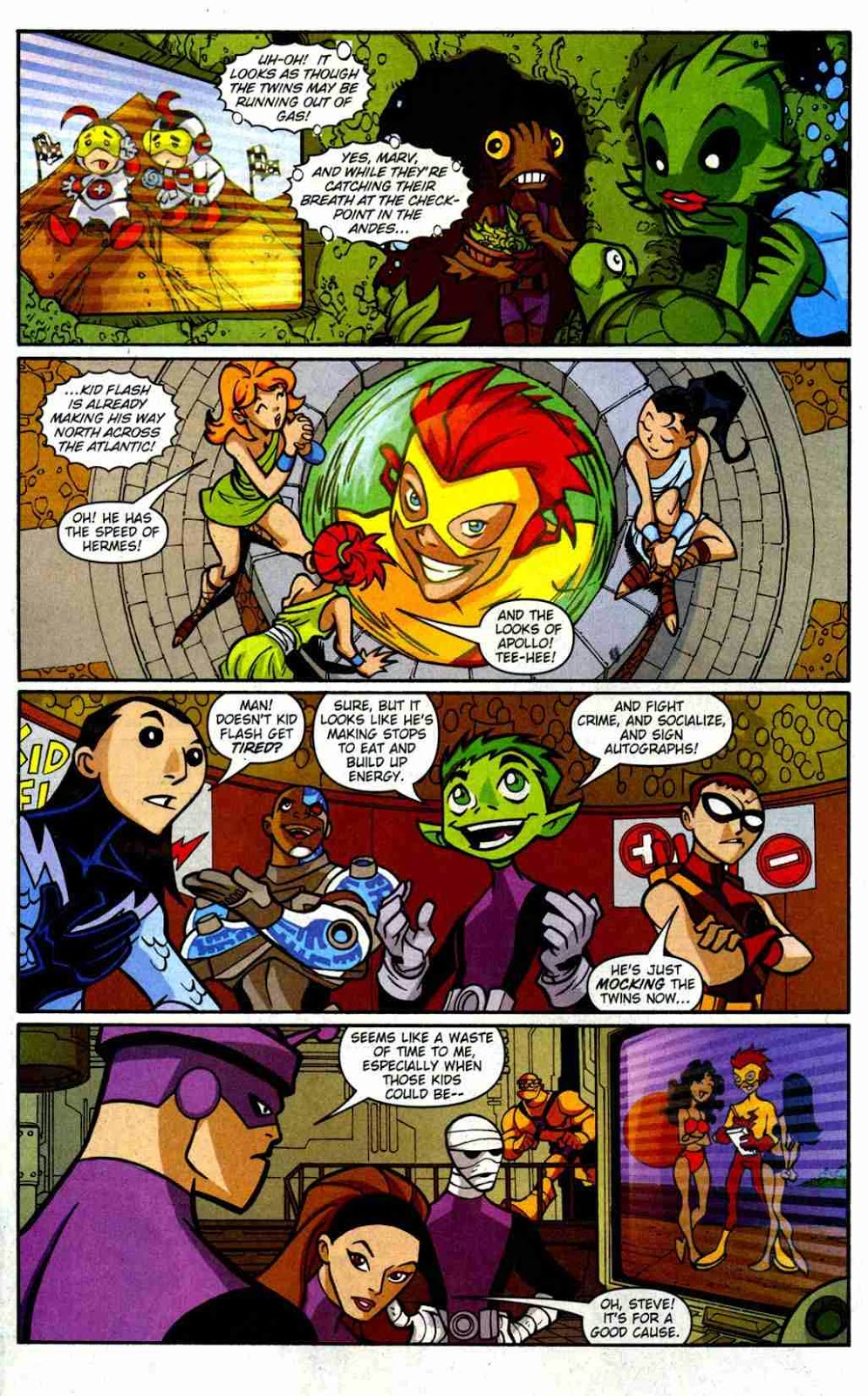 Teen Titans GO! Comic book series: Teen Titans GO! Issue ...