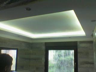indirekte Beleuchtung Badezimmer Modernisierung Moderner Stuck Belz