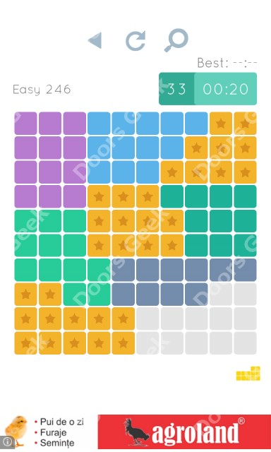 Cheats, Walkthrough for Blocks and Shapes Level 246