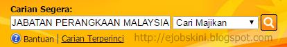 Jawatan Kosong di Jabatan Perangkaan Malaysia November 2016