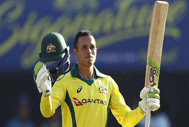 उस्मान ख्वाजा ने भारत के खिलाफ पांचवे वनडे में डिविलियर्स के रिकॉर्ड को तोड़ा