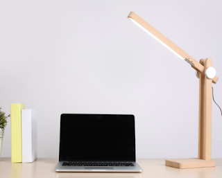 AUKEY LED Wooden Desk Lamp - Amazon.ca