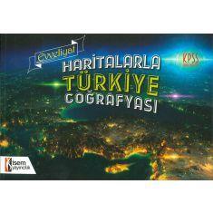 İsem Yayınları KPSS Evveliyat Haritalarla Türkiye Coğrafyası (2017)