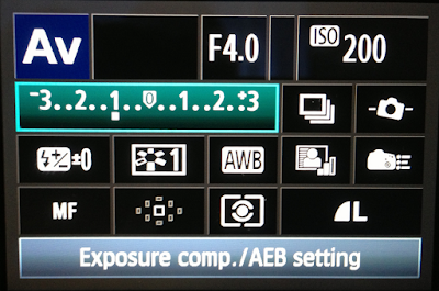 teknik exposure compensation