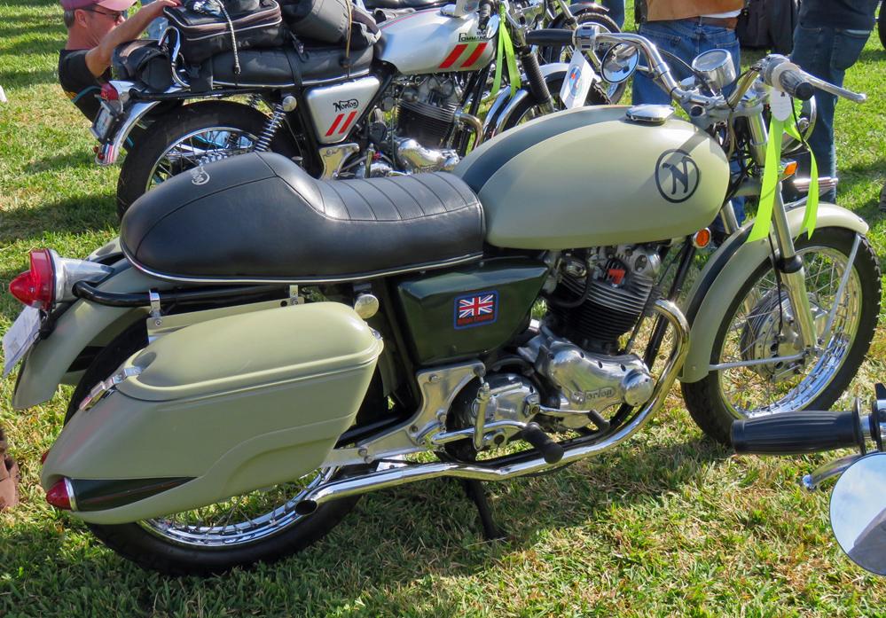 Sleek motorcycle.