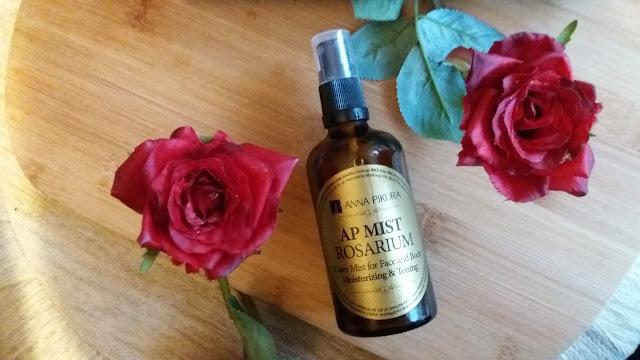 Aromatyczna mgiełka z białej róży