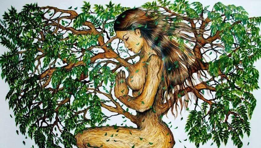 Η αγία προσευχήθηκε, να γίνει εκκλησία το σώμα της, δέντρα τα μαλλιά της, και το αίμα της ποτάμι!