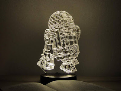 R2D2 3D Night Light: