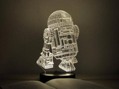 R2D2 3D Night Light: