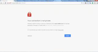 Situs web tidak bisa diakses