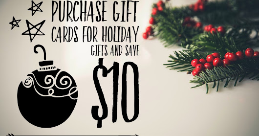 $10 Off Your Purchase of Gift Cards for the Holidays + $75 Amazon Gift Card #Giveaway #AlbMMixx #ad