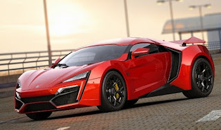 Lykan Hypersport Red
