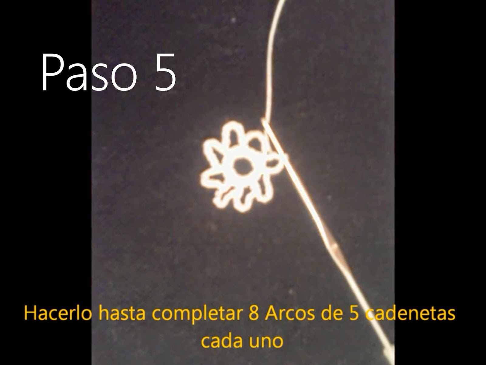 Tapete Flor Paso 5