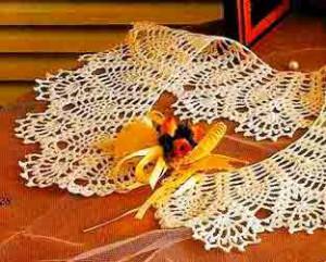 2 Cuellos de Crochet Patrones