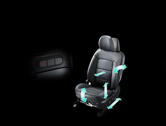 Ghế lái Kia Cerato 2017 chỉnh điện, nhớ ghế hai vị trí