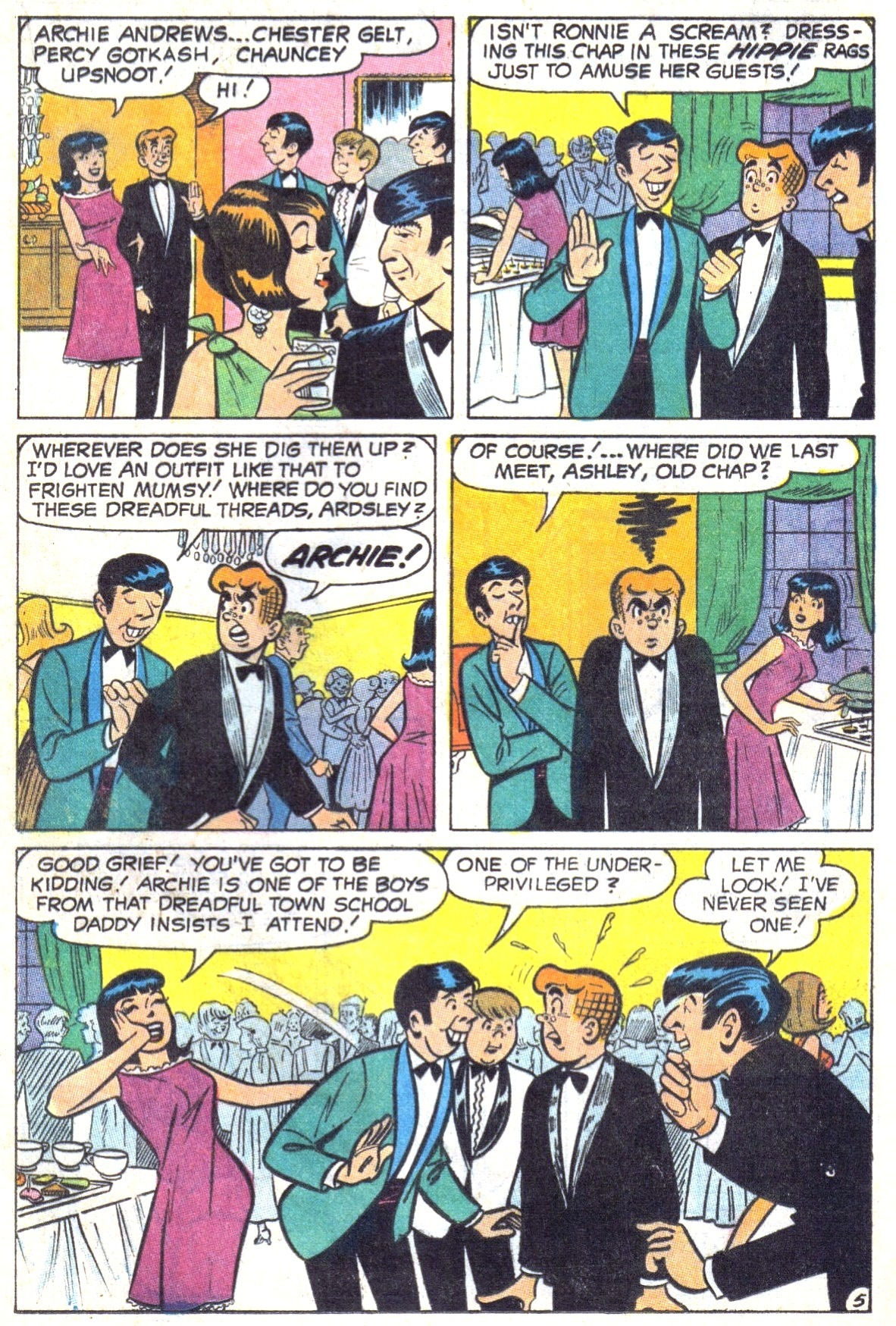 Read online Archie (1960) comic -  Issue #191 - 17