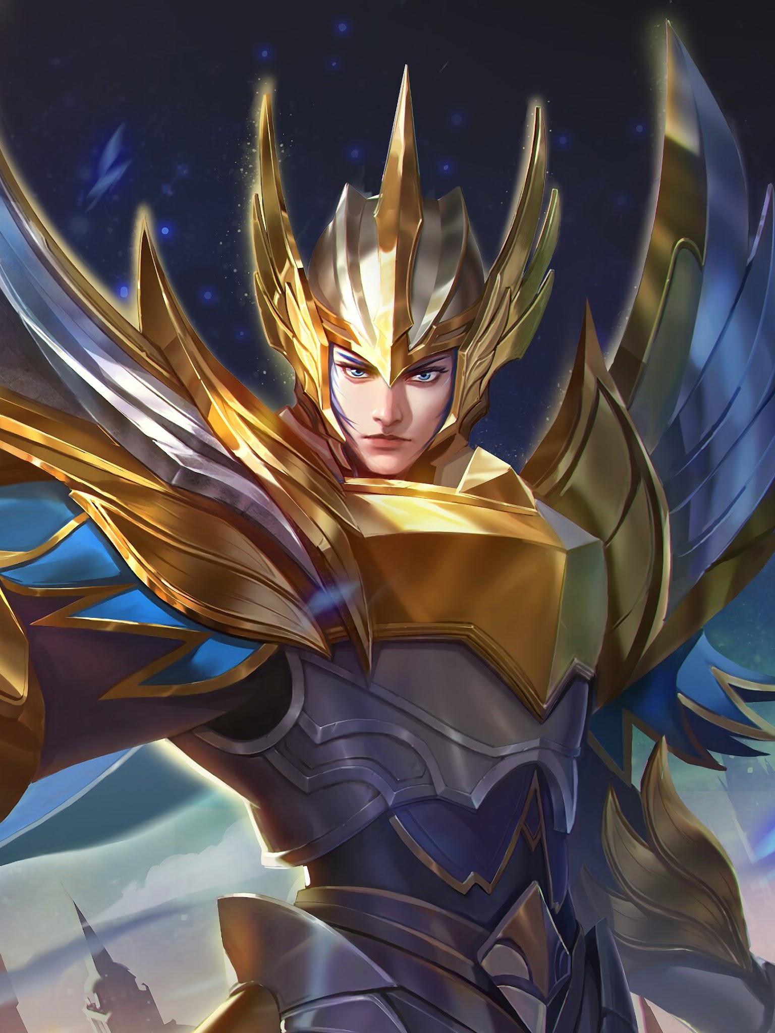 Zilong Glorious General Skin Mobile Legends 4K Wallpaper 33