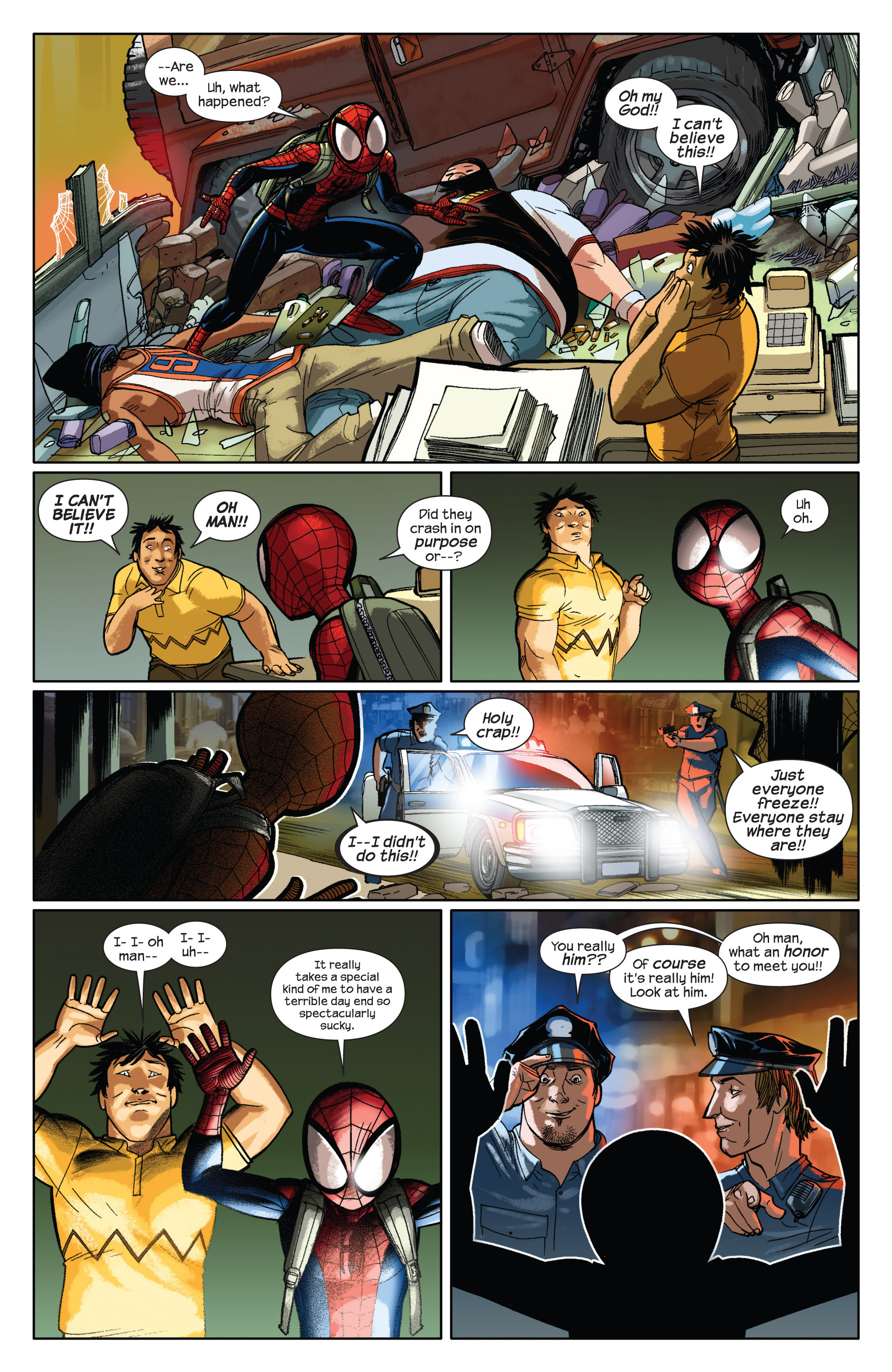 Read online Ultimate Spider-Man (2009) comic -  Issue #1 - 13