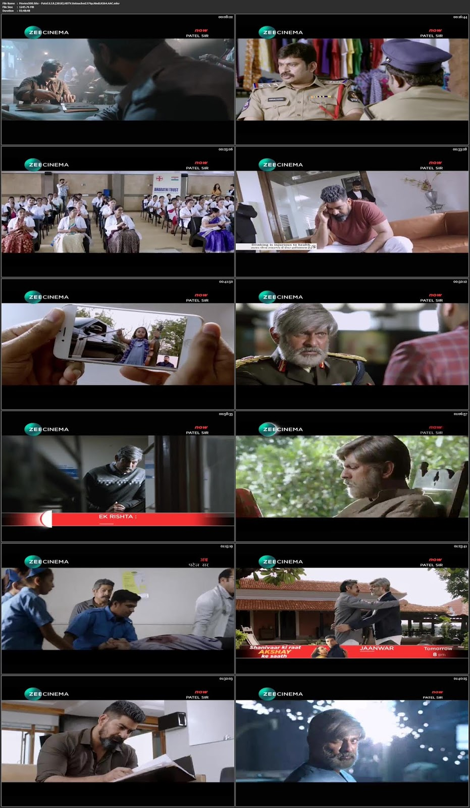 Patel S.I.R 2018 Hindi Dubbed 300MB HDTVRip 480p