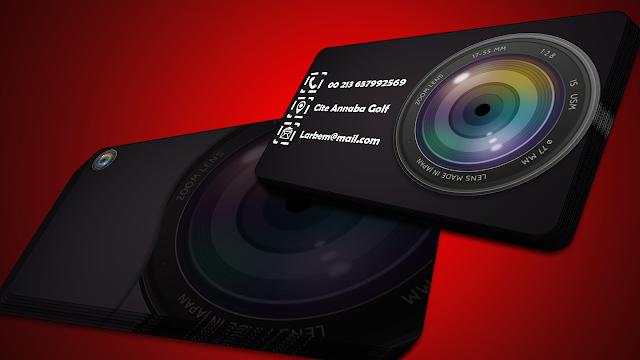 تصميم بطاقات زيارة إحترافية على برنامج الفوتوشوب Photoshop Tutorial
