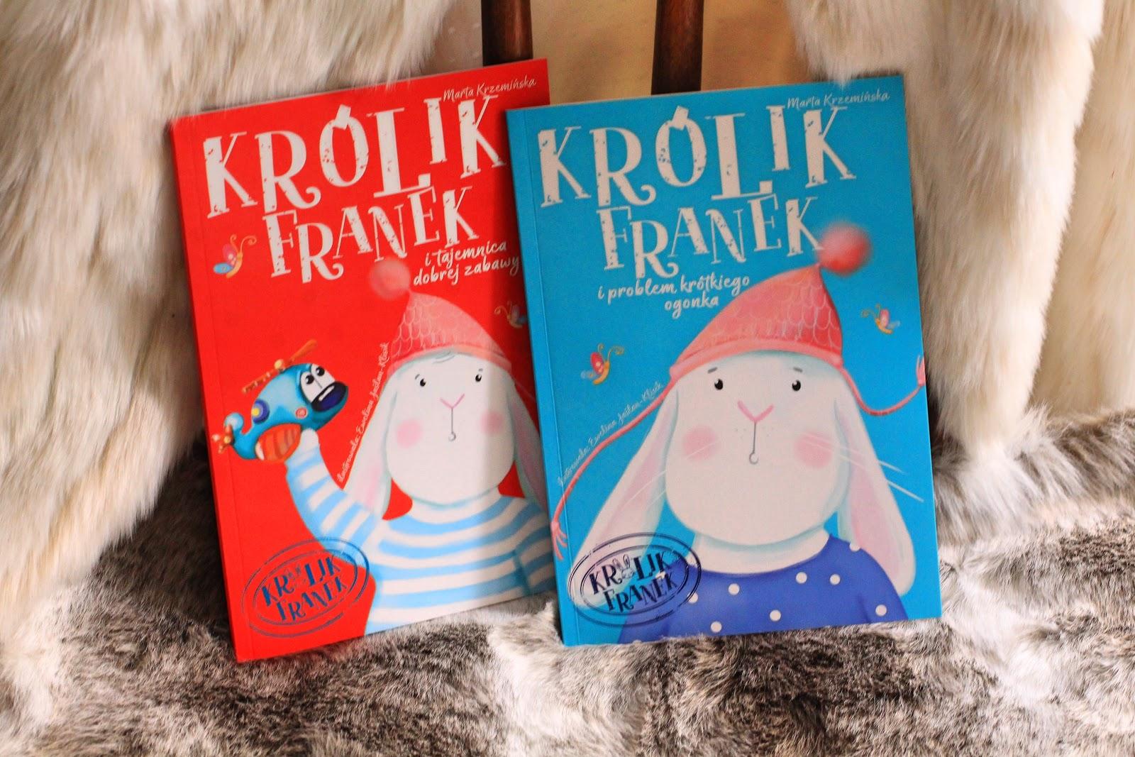 Królik Franek i tajemnica dobrej zabawy- Krzemińska