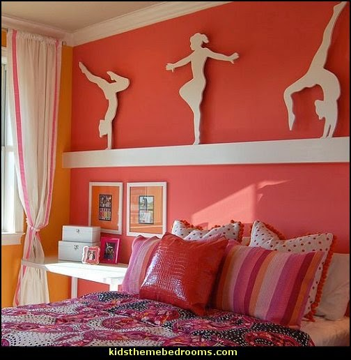Decorating theme bedrooms maries manor girls sports for Girl themed bedroom ideas