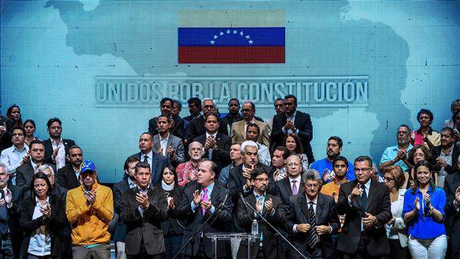 Venezuela opposition to hold unofficial referendum on President Nicolas Maduro's plan to rewrite the constitution