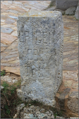 Mojón indicador del origen del Tajo