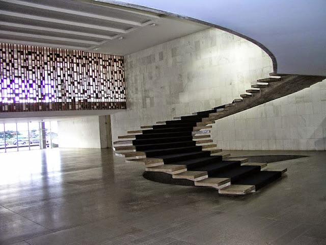 Palacio de Itamaraty de Brasilia | Oscar Niemeyer | Ministerio de Relaciones Exteriores | Palacio de los Arcos